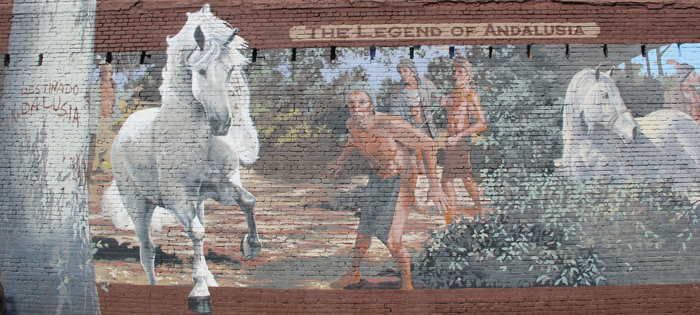 The Legend of Andalusia Mural