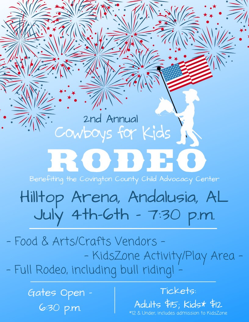 2nd Annual Cowboys for Kids Rodeo